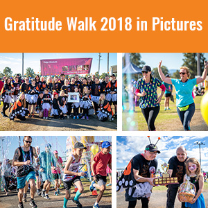 Gratitude Walk 2018 in Pictures