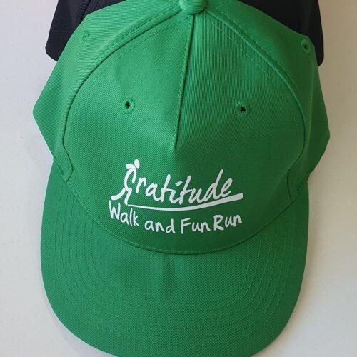 Gratitude Walk Emerald Green Cap