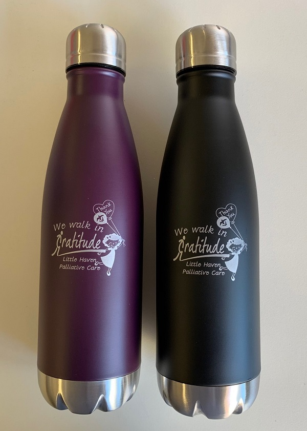 Gratitude Walk Water Bottles Stainless Steel